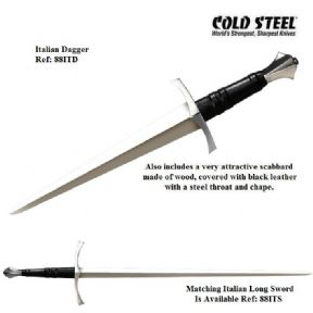 Cold Steel Italian Long Sword Dagger